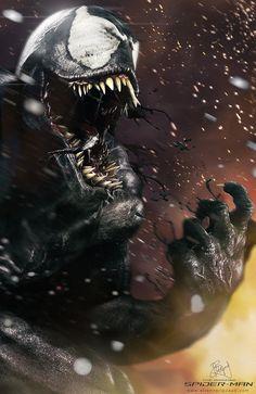 herochan:    Venom  illustrated byEtienne Ripzaad