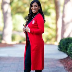 Long Red Cardigan, Camo Cardigan, Cardigan Outfits, Cable Knit Cardigan, Cropped Cardigan, Sweater, Delta Sigma Theta Apparel, Diana Fashion, Fall Outfits
