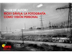 Taller: 'La fotografía como visión personal' con Ricky Dávila en la Escuela Lens de Madrid