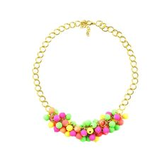 Colier Neon Beads