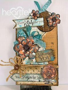 Heartfelt Creations   Everyday Heroes Double Pocket Card