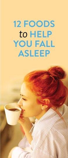 12 foods to help you fall asleep