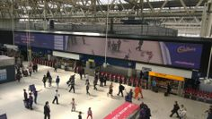 People are loving the 1st AR use of Waterloo Motion for @Cadbury UK via @GrandVisual @PHD_UK @TalonOOH @JCDecaux_UK