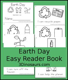 Earth day Words and Book on Pinterest
