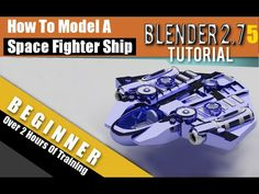 How To Make A Space Fighter Shop In Blender 2.75a