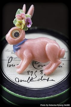"""""""You´re a lucky little bunny"""" From Vintage Fairy Tales"""