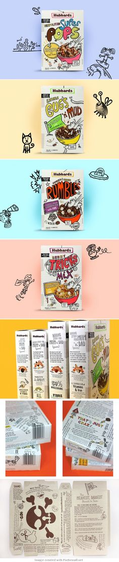 Hubbards Kids Cereal    *For Alli J, who was joking about designing a cereal box for Vis Com II.