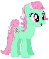 """""""Sweetie Belle's magic brings a great big smile."""" Number five of the Core featuring the lone unicorn in the group, Sweetie Belle. Sweetie Belle - Element of Love Care Bear Costumes, Discovery Family, Sweetie Belle, Room Stuff, My Little Pony, Angel, Love, Fictional Characters, Art"""