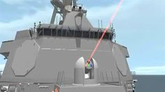 THE United States navy is sending rogue states a message with plans to shoot down drones with a ship-board laser system - off the coast of Iran.