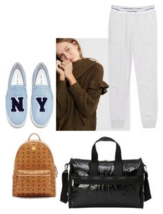 """""""Bye Vacation :("""" by design360 ❤ liked on Polyvore featuring Joshua's, Express, MCM, LeSportsac, Calvin Klein Jeans, BackToSchool, SeniorYear and 2ndsemester"""