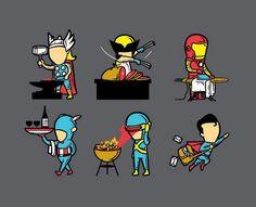 El trabajo medio tiempo de los superheroes