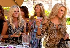 The Real Housewives of Orange County battle of the blondes! #rhoc LIKE us on Facebook!: http://www.facebook.com/therealhousewivesfanclub