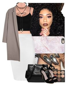 Untitled #515 by msixo on Polyvore featuring polyvore fashion style Topshop Organic by John Patrick Glamorous MICHAEL Michael Kors Miss Selfridge Casetify Kylie Cosmetics clothing