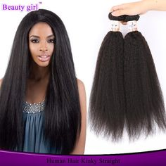 Brazilian Virgin Hair Straight Hot Sell Beauty Yaki Human Hair Curly Italian Yaki Kinky Straight Hair