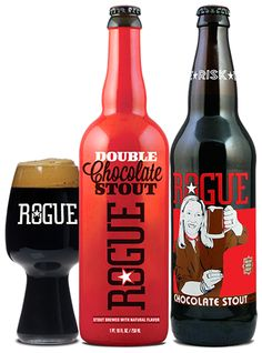 Rogue Ales Releases Chocolate Stout & Double Chocolate Stout In Time For Valentines Day • thefullpint.com