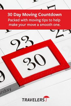 Planning to move? Get 30 things to do for 30 days to help make your move easier.