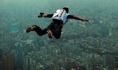 Skydive solo... Maybe even wingsuit it!