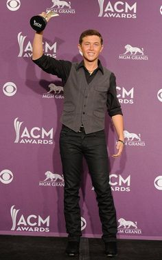 Scotty McCreery is one of the best male singers in country music!