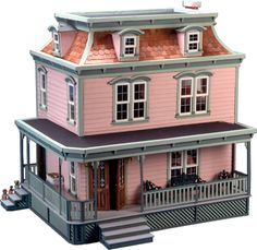 Greenleaf Dollhouses Lily Dollhouse & Reviews   Wayfair