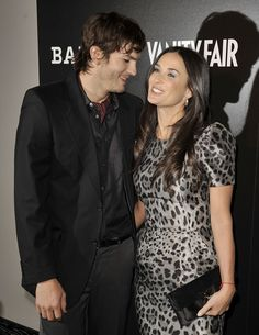 """Demi Moore and Ashton Kutcher Photos - Actors Ashton Kutcher (L) and Demi Moore arrive at Bally's """"Hollywood Domino"""" party to benefit The Art of Elysium at the Andaz Hotel on February 20, 2009 in West Hollywood, California.  (Photo by Kevin Winter/Getty Images) * Local Caption * Ashton Kutcher;Demi Moore - Bally's """"Hollywood Domino"""" Party To Benefit The Art Of Elysium"""