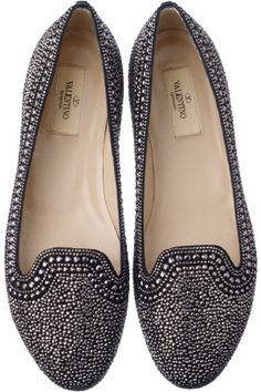 These remind me of those beautiful Indian embellished shoes, but more modern.