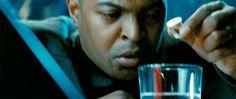 That's right, Noel Clarke (known as Mickey Smith) was in Star Trek: Into Darkness. This is him putting an explosive ring into water.