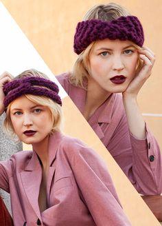 8a7a06cef46 Knitting Kit Wool Cornell Headbands Knitting Kits