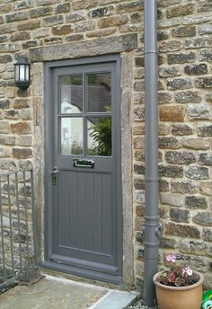 4 Lite Cottage Door with or without external door Frame *MADE TO MEASURE*. Chosen as example 4 lite but without letterbox.
