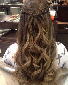 Hair Styles Long Thin Hair Updo Ideas - All For New Hairstyles Thin Hair Updo, Long Thin Hair, Wavy Hair, Unice Hair, Hair Band, Cute Hairstyles, Braided Hairstyles, Wedding Hairstyles, Hairstyles Videos