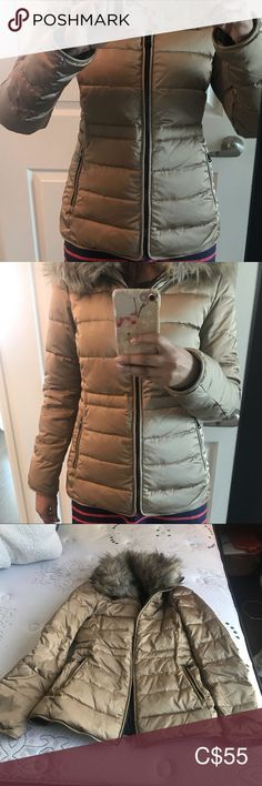 Shop Women's Zara size S Jackets & Coats at a discounted price at Poshmark. Description: Like new Zara woman down jacket. Worn only twice.