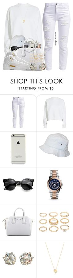 """""""Drake    Right Hand"""" by dope-madness ❤ liked on Polyvore featuring Miss Selfridge, Acne Studios, Michael Kors, Givenchy, Drakes London, Forever 21, April Soderstrom Jewelry and Joolz by Martha Calvo"""