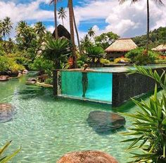 Take me back to the best resort and the best pool I have ever seen! At magical Laucala in Fiji! Best Resorts, Best Vacations, Places To Travel, Places To Visit, Travel Destinations, Fly To Fiji, Visit Fiji, Destination Voyage, Island Resort