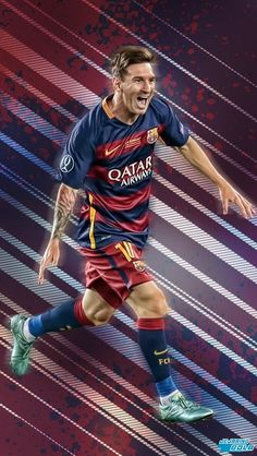 Parvinder singh nikkuwal,The greatest of them all Lionel Messi ⚽️ Fc Barcelona, Lionel Messi Barcelona, Cr7 Vs Messi, Neymar, Good Soccer Players, Football Players, Sport Football, Messi Poster, Cr7 Junior
