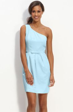 LOVE the color of this dress for spring/summer