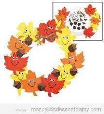 Resultado de imagen de el otoño manualidades para niños