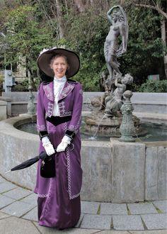 1904 Edwardian walking suit. Walking, Victorian, Costumes, Suits, Dresses, Fashion, Vestidos, Moda, Dress Up Clothes