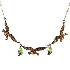 Leaf Necklace Fashion Jewelry