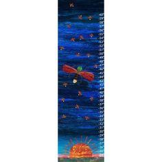 Eric Carle Firefly Canvas Growth Chart, Multicolor