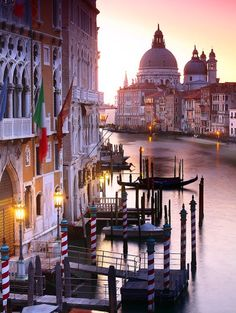 Grand Canal at Sunset - Venice