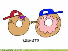Nothing wrong with a little donut humor