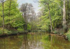 PEDER+MORK+MONSTED+-+Um+lago+tranquilo+na+floresta+-+Óleo+sobre+tela+-+82,5+x+117,4+-+1904.jpg (1323×936)