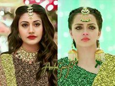 gauri and anika Shrenu Parikh, Indian Fashion Dresses, Indian Bridal Wear, Bollywood Girls, Actress Pics, Stylish Girl Images, Fashion Articles, Colorful Fashion, Bridal Makeup