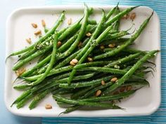 Ina's Lemony Green Beans