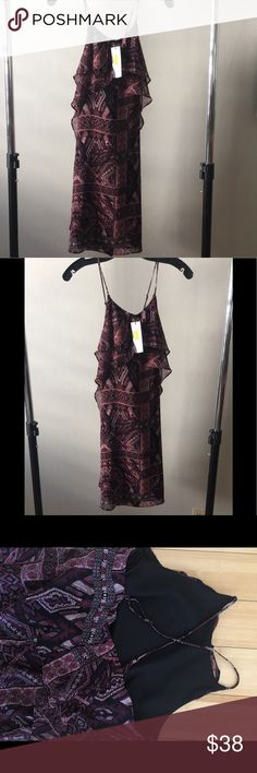 BCBG generation  Ruffle dress Such a fun dress very feminine New with tags Dresses
