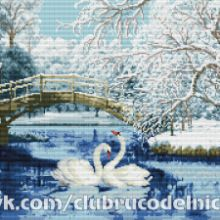 Gallery.ru / Все альбомы пользователя denise10 Cross Stitch Flowers, Cross Stitch Patterns, Painting, Crochet, Xmas, Scenery, Projects, Painting Art, Knit Crochet
