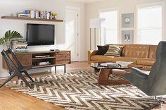Living room & Stainless Steel Frames