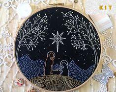 Kit de bordado tradicional Natividad