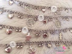 Pulsera acero multidijes Gold Rings Jewelry, Bling Jewelry, Custom Jewelry Design, Jewelry Making Tutorials, Handmade Accessories, Handmade Bracelets, Fashion Bracelets, Samar, Jewels