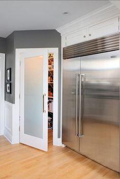 Kitchen Pantry Ideas. Great kitchen pantry! #KitchenPantry #Pantry