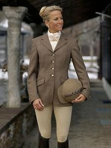 A proper riding outfit